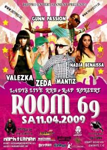Flyer zum ROOM69 Event (Bild: DefPro)